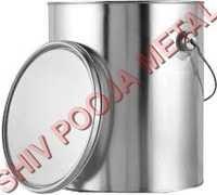Paint Round tin