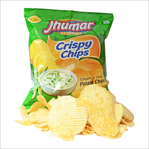 Cream Onion Potato Chips