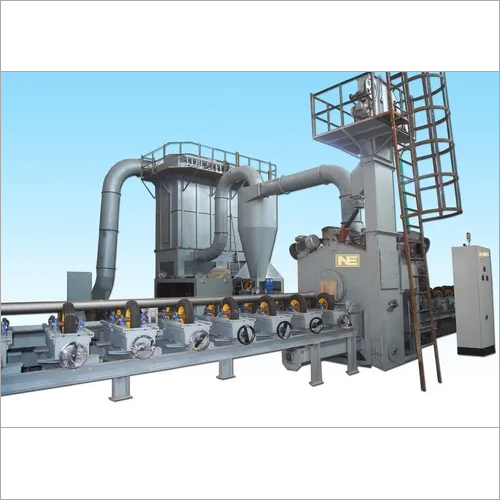 Pipe OD Cleaning Shot Blasting Machine