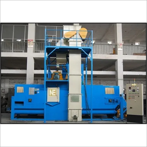 Spring Shot Peening Machine