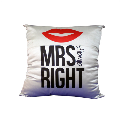 Satin Plain Cushion