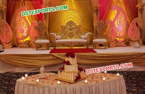 Designing Wedding Paisley Stage