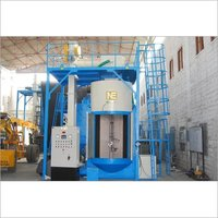 Airless Indexing Hanger Type Shot Blasting Machine