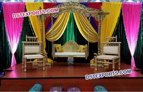 Beautiful Rajwada Wedding Swing