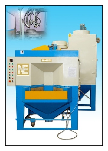 Rotary Indexing Type Sand Blasting Machine