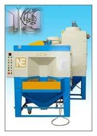 Rotary Indexing Type Sand Blasting Machine