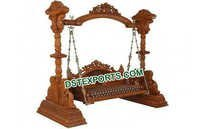 Rajwada Wooden Carved Swing