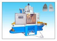 Belt Conveyor Type Abrasive Blasting Machine