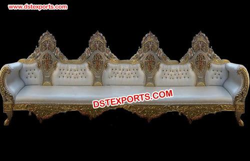 Wedding Big Brass Metal Furniture