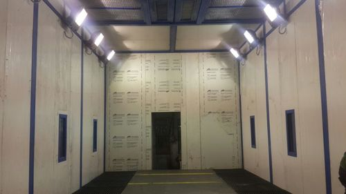 Down Draft Paint Booth