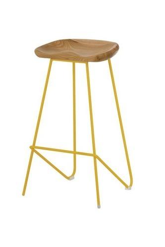 Wrought iron counter stool