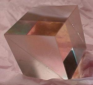 Non-Polarizing Cube Beamsplitter