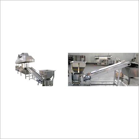 Fully Automatic Green Peas Fryer