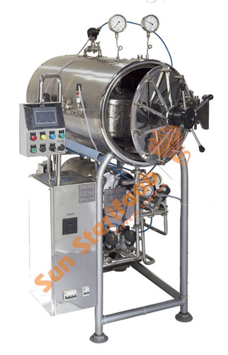 Automatic Horizontal Cylindrical Autoclave
