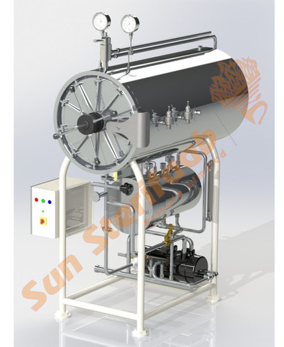 Manual Horizontal Cylindrical Autoclave