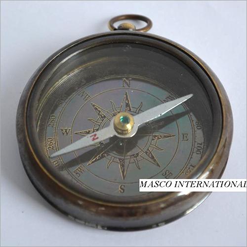 Antique Open Case compass