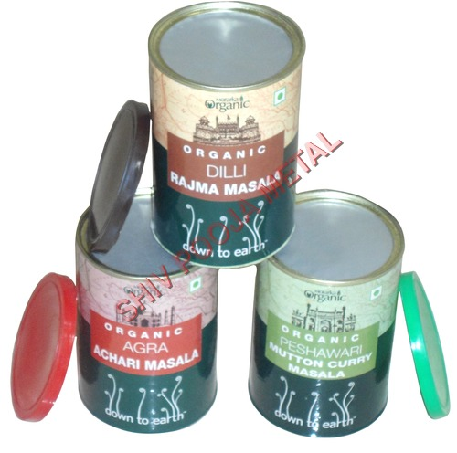 Spices Tin Can