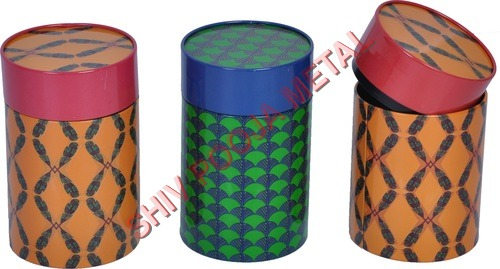 Spices paper container