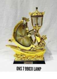 Table Clock Lamp