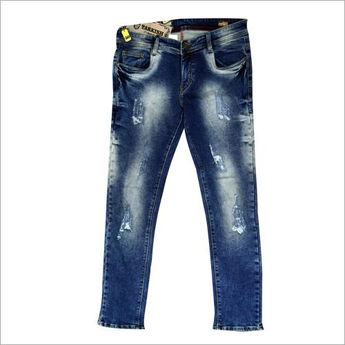 Men Damaged Jeans