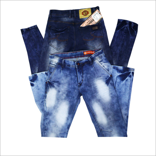 Elastic Men Jeans