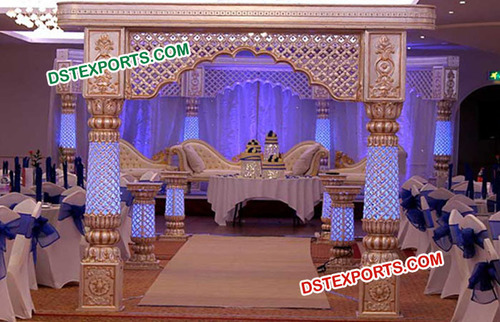 Traditional Indian Wedding Stage