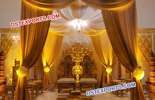 Royal Indian Wedding Mandap Chairs