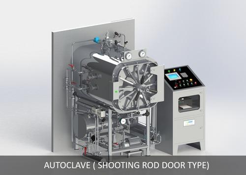 Autoclave (Shooting Rod Door Type)