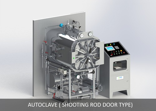 Autoclave (Shooting Rod Door Type)