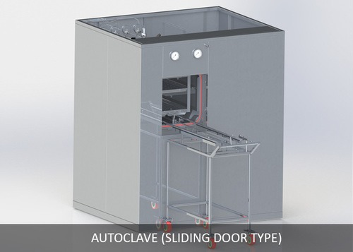Autoclave (Sliding Door Type)