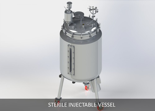 Sterile Injectable Vessel