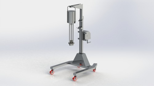 Homogeniser With Telescopic Stand