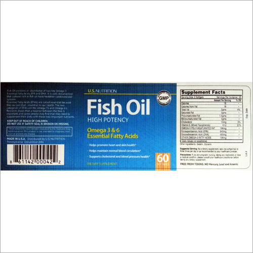 High Potency Fish Oil