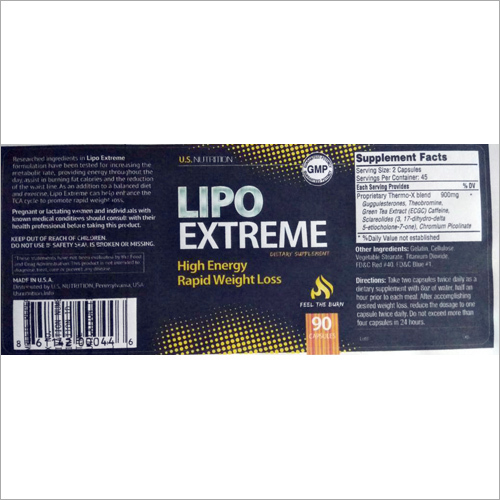 LIPO Extreme Dietary Supplement