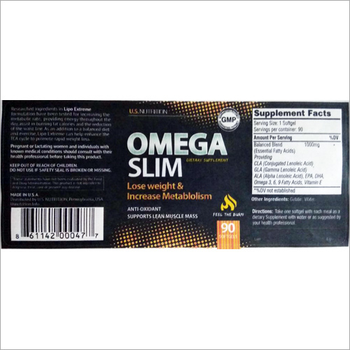 Omega Slim Dietary Supplement