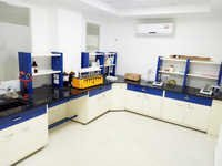 Lab Furniture with Reagent Rack