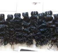 Curly Weft Indian Hair