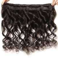 Indian loose Temple hair