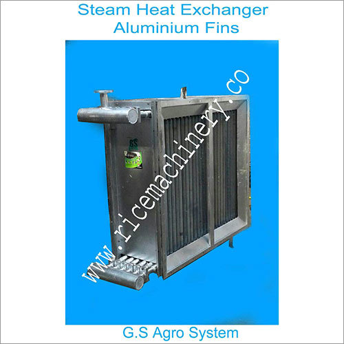 Steam Heat Exchanger Aluminium Fins