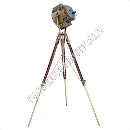 Sheesham Tripod Floor Lamp
