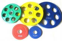Seven Holes Iron Weight Plates