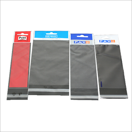 BOPP Header Bags / Stationery Bags