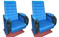 Push Back Theater Chair