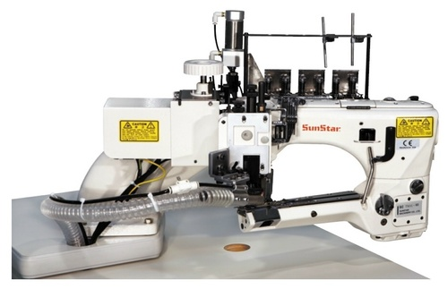 Direct drive, 4-Needles, Flat Seamer, Interlock Sewing Machine