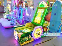 Coin Input Bowling Video Music Amusement Machine
