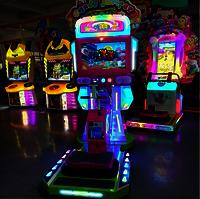 Candy Jumping Vedio Music Amusement Machine