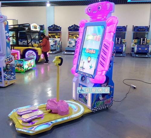 Speed Skater Video Music Amusement Machine
