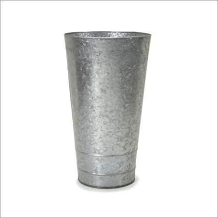 Galvanized Vasses Planter