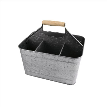 Galvanized Garden Baskets