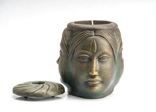 Maya Candle (Ocean Blue)
